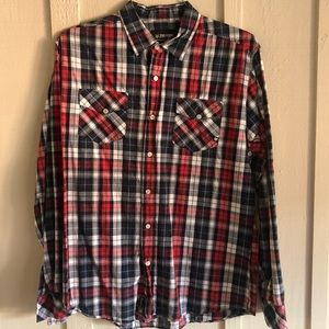 Large Zoo York Plaid Shirt - Excellent Condition🚭
